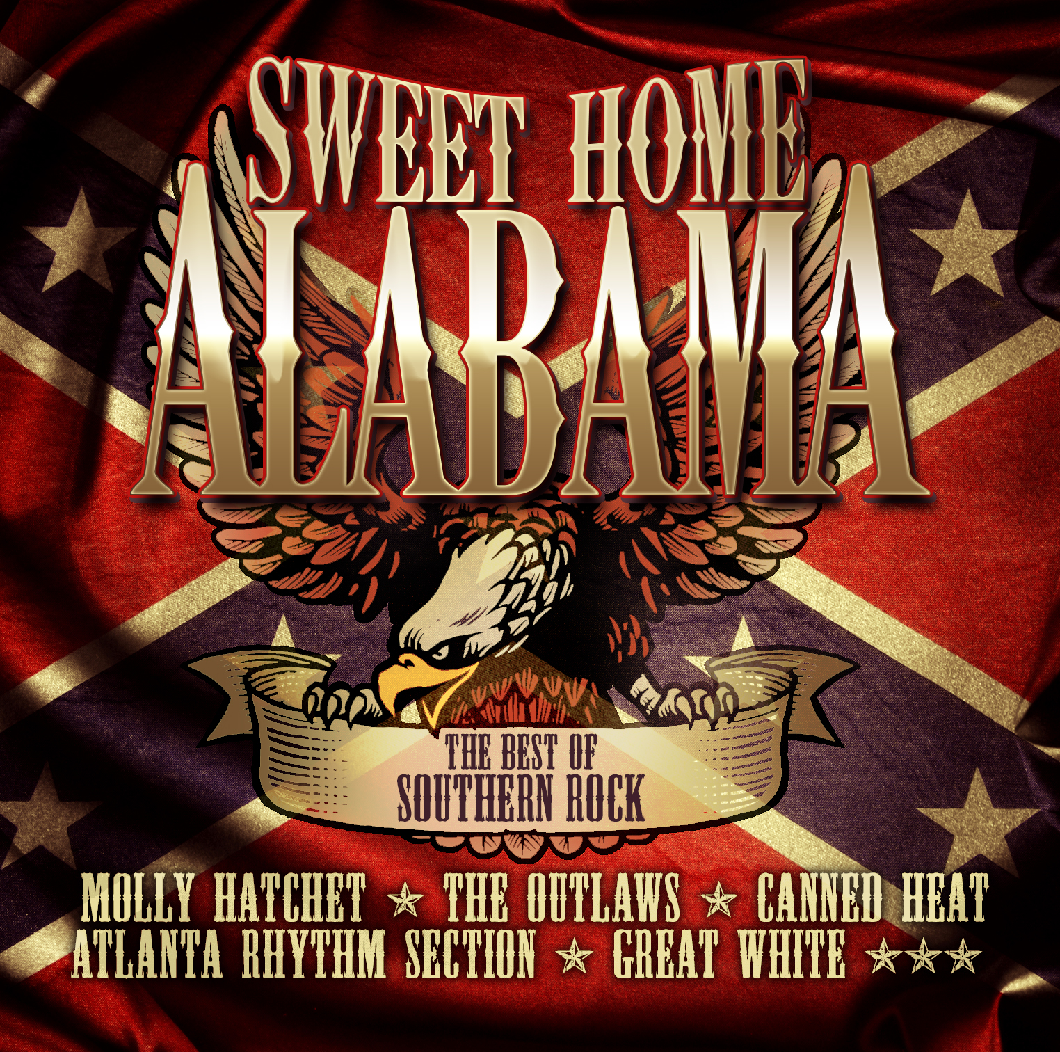 Cd Sweet Home Alabama Best Of Southern Rock Von Various